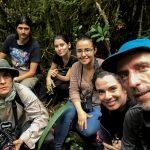 Grupo de investigadores en reconocimiento botánico